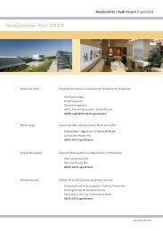Newsletter Mai 2010 - Donaukurier
