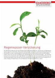 Katalog betrachten - Berger Wassersysteme