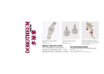 1110 Flyer Juwelen Uhren Chin 2 - Dorotheum