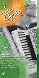 Programm Juli-September 2010 - Kulturkalender Marzahn-Hellersdorf