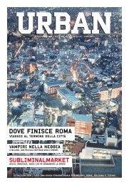 DOVE FINISCE ROMA - Urban Magazine