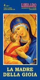 la madre della gioia - CASA S. MARIA,Pagliare AP,Dehoniani, SCJ
