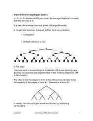 Routing algorithms - NCSU COE People