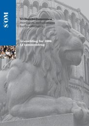 2006 (pdf, 12.7 MB) - Sivilombudsmannen