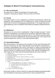 Vedtægter for Bøllund Forsamlingshus' Interesseforening