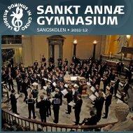 Årsskriftet 2012 (pdf) - Sankt Annæ Gymnasium