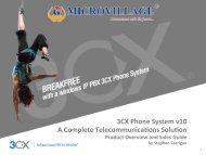3CX End Customer - Micro Village Communications Pvt Ltd