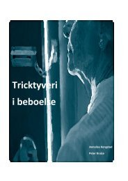 Tricktyveri i beboelse - Center for Alternativ Samfundsanalyse