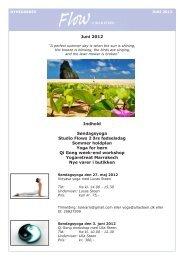 Juni 2012 - Velkommen til Ulla Steen
