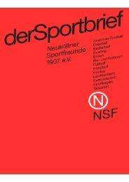 NSF - Neuköllner Sportfreunde 1907 eV