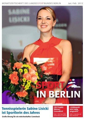 Januar-Februar 2012 - Landessportbund Berlin