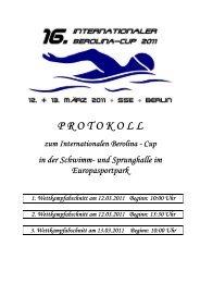 Deckblatt Protokoll Gesamt - Berolina-Cup