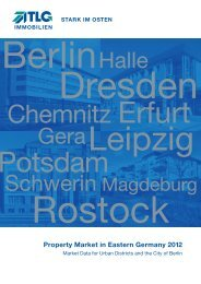 Property Market in Eastern Germany 2012 - TLG Immobilien GmbH