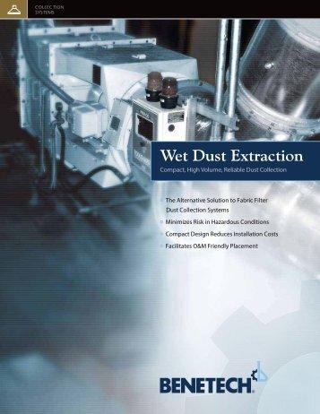Wet Dust Extraction - Benetech