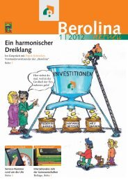 "Unser ""Workshop Bauphysik"" Genossenschaften - BEROLINA"