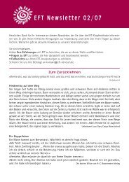Die EFT-Kinder-Ecke - Horst Benesch