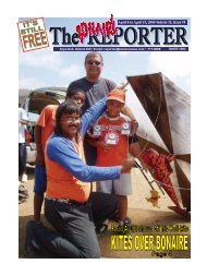 April 8 to April 15, 2005 Volume 12, Issue 14 - The Bonaire Reporter