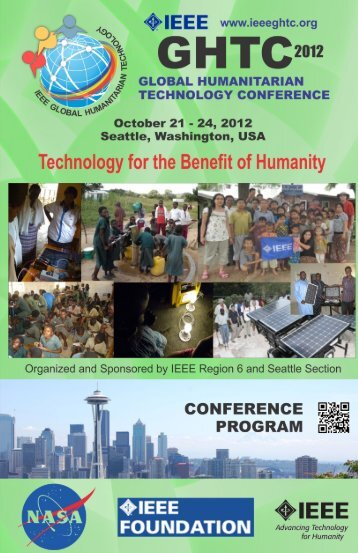 the Program Booklet - IEEE Global Humanitarian Technology ...
