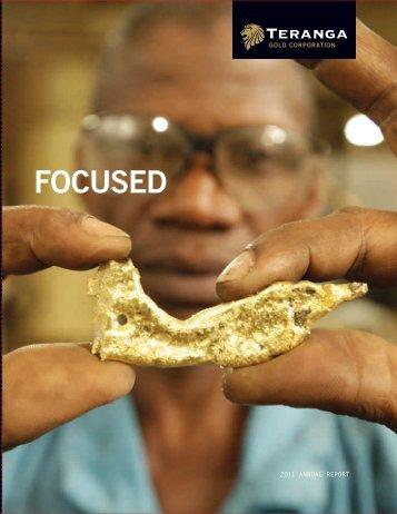 2011 Annual Report - Teranga Gold Corporation