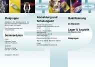 Qualifizierung im Bereich Lager & Logistik - Donner + Partner