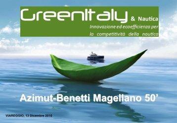 Azimut-Benetti Magellano 50' - Symbola