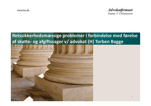 Torben Bagge - Danmarks Skatteadvokater