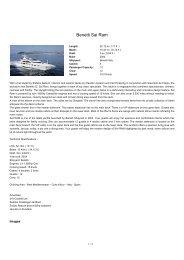 Benetti Sai Ram Luxury yacht charter Spain, Cote d Azur, Italy ...