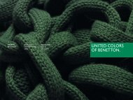 Bilancio Consolidato - Relazione Annuale 2006 - Benetton Group
