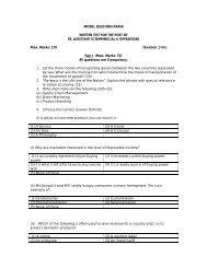Download Previous Question Paper - Nucleus - The Centre of
