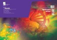 BII2010 - Bioinformatics Institute - A*Star