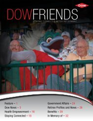 24 Retiree Profiles and News - The Dow Chemical Company