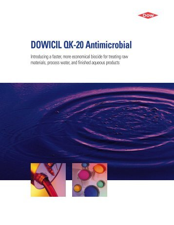 DOWICIL QK-20 Antimicrobial - The Dow Chemical Company