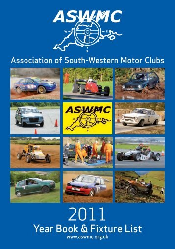 2011 ASWMC Year Book and Fixture List - Association of South ...
