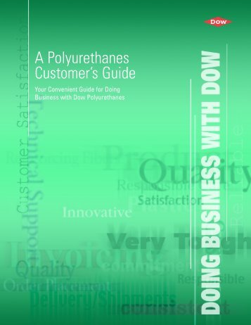 Product Order Guidelines - The Dow Chemical Company