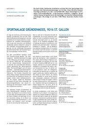 sportanlage gründenmoos, 9016 st. gallen - Solar Agentur Schweiz