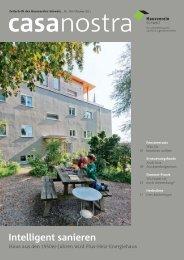 casanostra Nr. 109 herunterladen als pdf - hausverein.ch