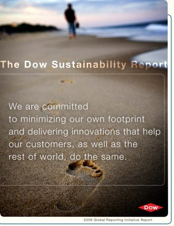 The Dow Sustainability Report - The Dow Chemical Company