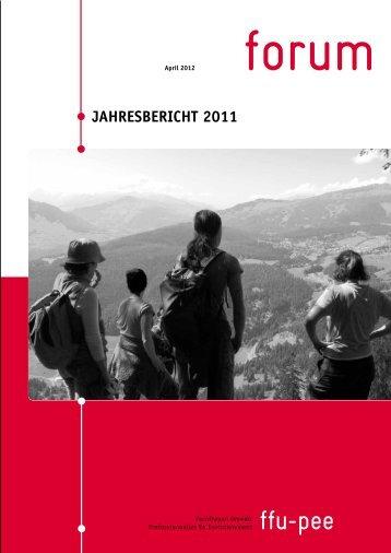 Jahresbericht 2011 - FachFrauen Umwelt