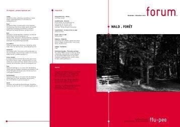 WAlD . FOrêT - FachFrauen Umwelt