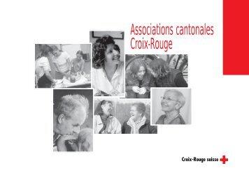 Associations cantonales Croix-Rouge