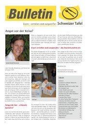 Bulletin Nr. 5 / 2009 (2373 kb) - Schweizer Tafel