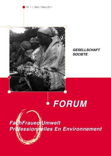 Louise mieDaner - FachFrauen Umwelt