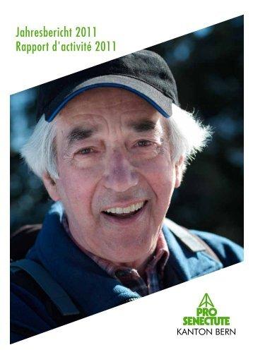 Jahresbericht 2011 Rapport d'activité 2011 - Pro Senectute Kanton ...