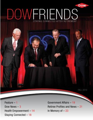 19 Retiree Profiles and News - The Dow Chemical Company