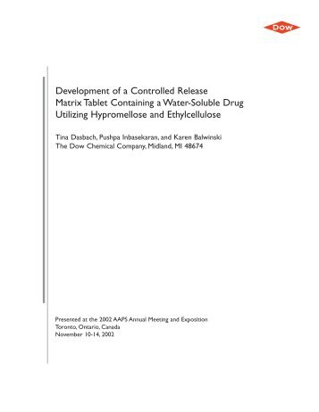 osmotic tablet thesis Studies on controlle | a controlled release effervescent osmotic pump tablet (eopt) of traditional chinese medicine compound recipe (tcmcr), named fuzilizhong prescription which includes acidic drugs consisted of many known and unknown effective components and has been used for several thousands years.