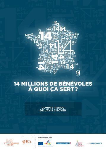 14 millions de bénévoles à quoi ça sert ? - CPCA