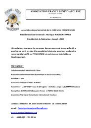 association france benin vaucluse - Consulat du Bénin à Marseille