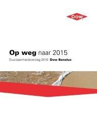 Duurzaamheidsverslag - The Dow Chemical Company