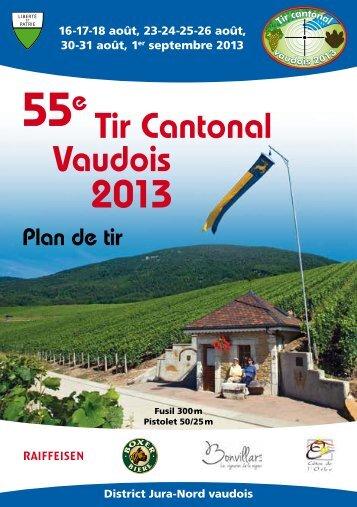 Terrassement Génie civil - Forages - Tir Cantonal Vaudois 2013