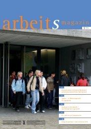arbeitsmagazin - im Amt für Wirtschaft und Arbeit - Kanton St.Gallen